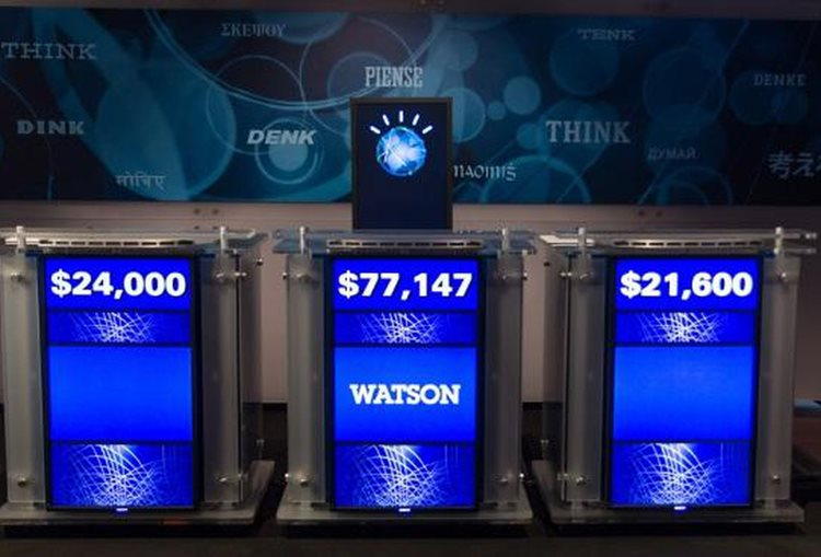 IBM Watson defeats competitors at Jeopardy using artificial intelligence